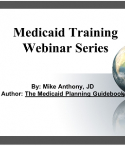 Medicaid Planner Course and Medicaid Guidebook Special Offer!